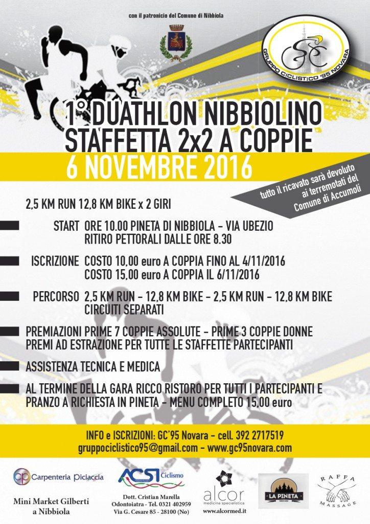1° duatlhlon Nibbiolino