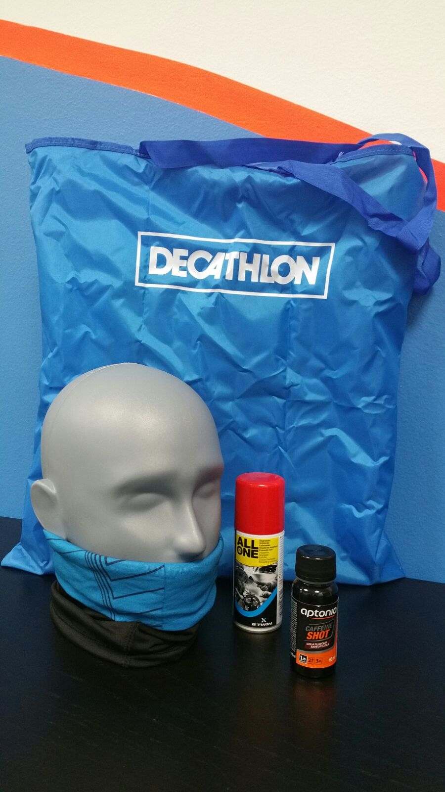 pacco gara Decathlon